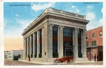 First National Bank building by Curt Teich & Co. and Robert Runyon