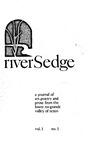 riverSedge Spring 1977 v.1 no.1 by RiverSedge Press, Dorey Schmidt, Brian Robertson, Ted Daniel, and Jan Seale