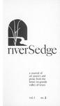 riverSedge Fall 1977 v.1 no.3 by RiverSedge Press, Brian Robertson, Dorey Schmidt, Ted Daniel, and Jan Seale