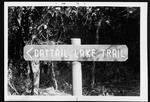33 Cattail Lake trail sign