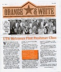 Orange & white - Fall 1998 by University of Texas at Brownsville and Texas Southmost College