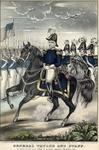 General Taylor and staff. Heroes of Palo Alto, Resaca de la Palma, Monterrey and Buena Vista