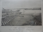 Birds-eye view of the camp of the army of occupation, commanded by Genl. Taylor, near Corpus Christi, Texas, (from the North)