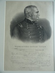 Major General Zachary Taylor,  from an original sketch taken from life at Camargo by Captain Eaton, A.D.C.