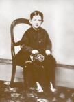 Portrait of Daniel Yturria, age 6