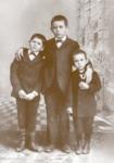 Portrait of Daniel Yturria, son Herminio, and Daniel Fausto