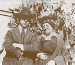 Fausto and his grandmother Felicitas Yturria