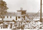 Loading Confederate cotton on a steamboat near Matamoros