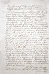 Citizenship letter belonging to Francisco Yturria by E. J. Davis