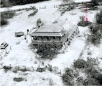 Paso Real Stagecoach Inn, aerial view